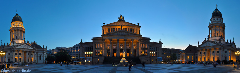 gendarmenmarkt bilder und infos besuch. Black Bedroom Furniture Sets. Home Design Ideas
