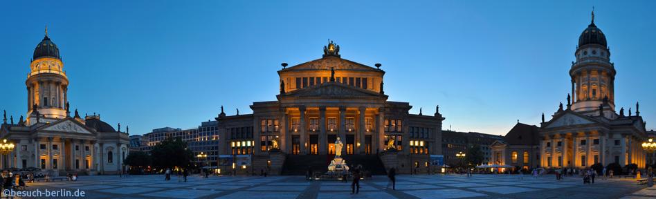 Gendarmenmarkt - Bilder und Infos | besuch-berlin.de