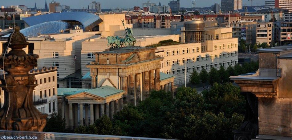 besichtigung berlin reichstag